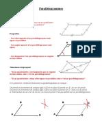 parallelogrammes