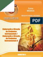 0087_Elaboração e Direção de Conjuntos Instrumentais - Elaboração e Direção de Conjuntos Instrumentais II