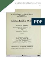 Gaettens - Der Fund Ludwiszcze - Ein Schatz deutscher und skandinavischer Denare des XI Jahrhunderts - 1934