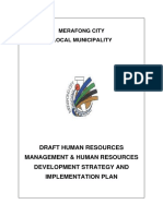 HRM_HRD Strategy and Implementation Plan