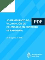 Vacunación en PBA