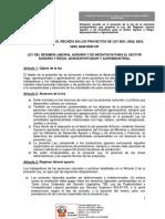 Texto Sustitutorio 29-12-2020 - LEY AGRARIA - CEBFIF Este Es[R]