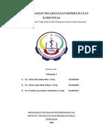 Pengorganisasian Pelaksana Keperawatan Komunitas