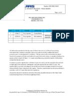 DFM BEST PRACTICE – WELD DESIGN OPS-SPEC-00931