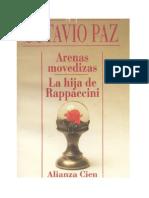 Paz Octavio - Arenas Movedizas Y La Hija De Rappaccini