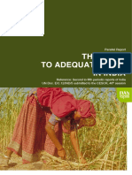 Fian Report on The Right to Adeguate Food in India (2008)