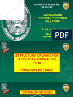 ORGANOS DE LINEA PNP