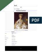 Suzanne Necker, née Curchod, née le 2 juin 1737
