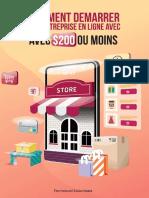 Comment démarrer une entreprise en ligne avec 200€ ou moins.pdf