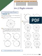 Chingatome-Première S-Angles orientés