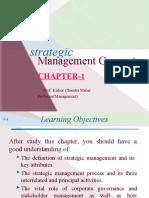 CH-1 Strategic Management - Introduction