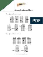 inversões aplicadas ao blues