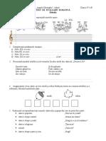 Test de evaluare, Melodia.doc