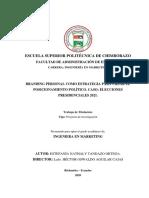 42T00570 POSICIONAMIENTO POLITICO TESIS