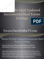 Where To Find Updated Sacramento Real Estate Listings