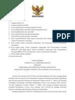 SE No. HK.02.01-MENKES-4394-2020 ttg Registrasi dan Perizinan NAKES Masa Pandemi COVID-19