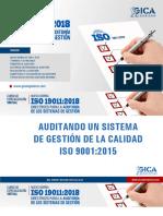 Auditando un Sistema de Gestión de la Calidad ISO 90012015