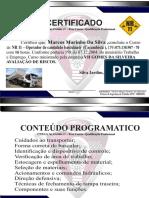Certificado de Cacambista  - Marcos