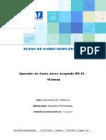 Curso Simplificado Operador de Cesto Aéreo Acoplado NR 12_16h