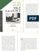 Bertold Brecht - Diário de Trabalho Vol II