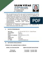 Curriculum Vitae Diana Vega 1