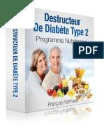 Destructeur de Diabete PDF Gratuit Francis Perberg