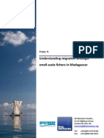 Understanding migration amongst small‐scale fishers in Madagascar (ReCoMap & Blue Ventures, 2009)