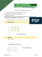 Determinante 3 x 3 - excelparaingenieria.com