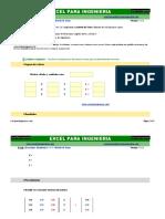Ecuaciones Simultáneas 3 x 3 - Método de Gauss - excelparaingenieria.com.xlsx