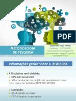 AULA METODOLOGIA em PDF