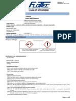 Flottec 8020 Colector SDS SP 2018-07-31