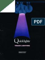 Omega Lighting Quicklights Track Lighting Catalog 8-88