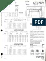 Omega Lighting WY5081-5082 TW CFL Wallwash Downlight Spec Sheet 3-86