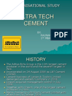 Ultra Tech Cement Ppt