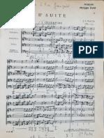 II° Suite de J.S. Bach