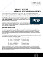ECC Library Service Proposals 2011-2013