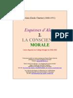 Alain (Emile Chartier) - La conscience (2)