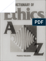 A Dictionary of Ethics