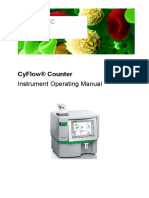 CyFlow Counter new Operators Manual
