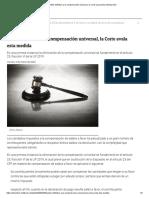 Adiós definitivo a la compensación universal, la Corte avala esta medida _ IDC