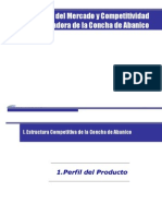 Conchas de Abanico perfil del producto