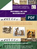 Historia de los materiles y Clasificacion