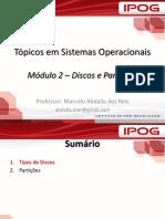 Modulo 2 - Discos e Partições