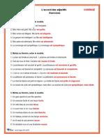 Le genre et le pluriel des adjectifs Exercices et corrige-3-4.pdf