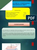 2da expo. DIFERENCIAS ENTRE UN CONDENSADOR Y GENERADOR ELECTRICO.pptx