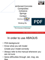 Advanced Topics in ABAQUS Simulation