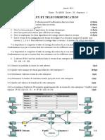 réseau T mise Sequence 1 2016
