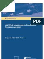 Aid Efectiveness Agenda - Casos que demuestran la ineficacia_Full_Final_Report