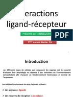 Cours 2, Interaction ligand-récepteur 2017 (1)_1e285d2008df42abc1078e50139a63bc