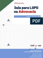 GUIA LGPD PARA A ADVOCACIA OABDF OUTUBRO2020